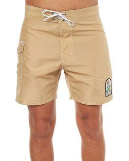 TAN MENS CLOTHING KATIN BOARDSHORTS - TRSSWAT17TAN