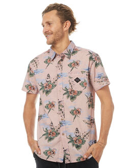 RHUBARB MENS CLOTHING THE CRITICAL SLIDE SOCIETY SHIRTS - SAS1703RBRB