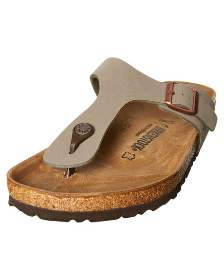 STONE WOMENS FOOTWEAR BIRKENSTOCK FASHION SANDALS - 043391WSTN