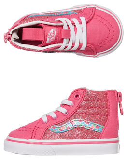 CARMINE ROSE KIDS GIRLS VANS SNEAKERS - VNA32R3VJ2CROSE