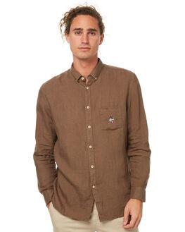 DARK OLIVE MENS CLOTHING BARNEY COOLS SHIRTS - 313-MC2DOLIV