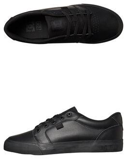 BLACK BLACK BLACK MENS FOOTWEAR DC SHOES SNEAKERS - ADYS3001473BK