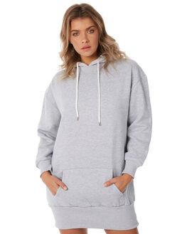 GREY HEATHER WOMENS CLOTHING ZOO YORK DRESSES - ZY-WDA8341GREY