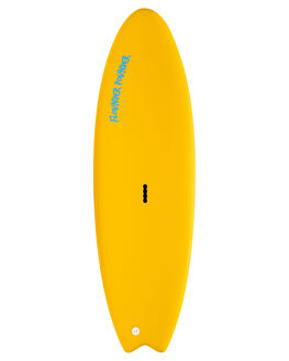 YELLOW BLUE BOARDSPORTS SURF GNARALOO GSI SOFTBOARDS - GN-FLOPO-YLBL