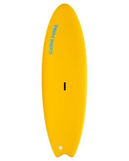 YELLOW BLUE BOARDSPORTS SURF GNARALOO GSI SOFTBOARDS - GN-FLOPO-YLBL