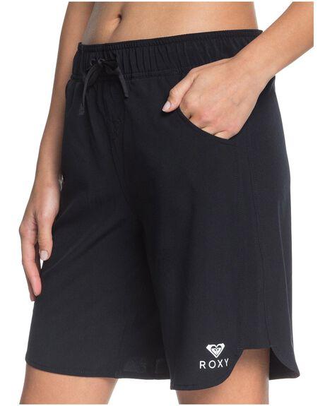 ANTHRACITE WOMENS CLOTHING ROXY SHORTS - ERJBS03164-KVJ0