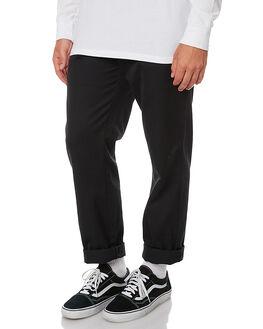 BLACK MENS CLOTHING CARHARTT PANTS - I020074-8902BLK