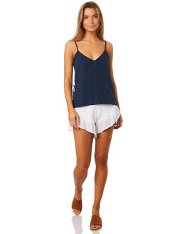 NAVY WOMENS CLOTHING ALL ABOUT EVE FASHION TOPS - 6405073NAVY