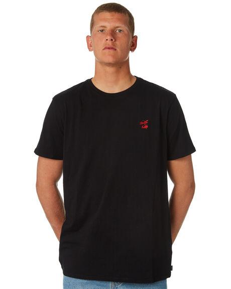 BLACK MENS CLOTHING SWELL TEES - S5184033BLACK