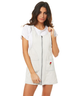 LIGHT BLUE WOMENS CLOTHING AFENDS PLAYSUITS + OVERALLS - 51-03-142LBLUE