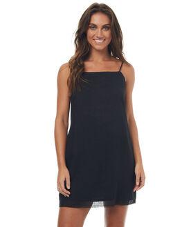 BLACK WOMENS CLOTHING RUE STIIC DRESSES - SO1708LBLK