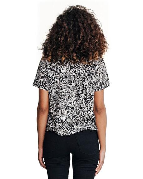 BLACK BLACK WOMENS CLOTHING QUIKSILVER JEANS - EQWDP03001-KVJ0