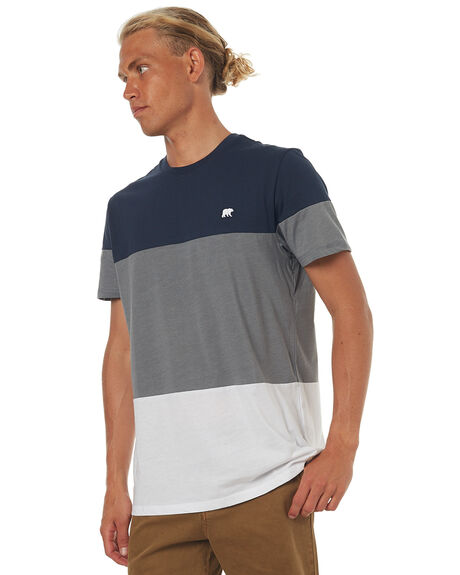 ECLIPSE NAVY MENS CLOTHING ELEMENT TEES - 174018ENVY