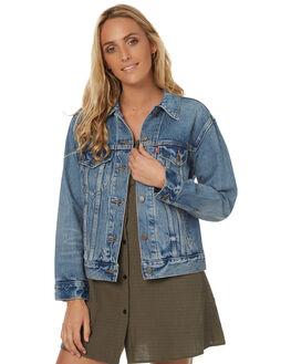 FAVORITE BLUES WOMENS CLOTHING LEVI'S JACKETS - 29944-0007FBLU