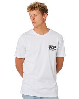 WHITE MENS CLOTHING RUSTY TEES - TTM2290WHT
