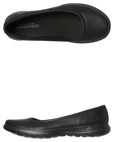 c0bfec1ebc4 BLACK BLACK WOMENS FOOTWEAR SKECHERS FLATS - 15395BBK