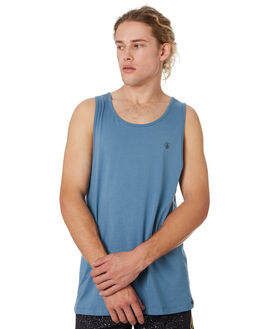 BLUE RINSE MENS CLOTHING VOLCOM SINGLETS - A0241575RNE