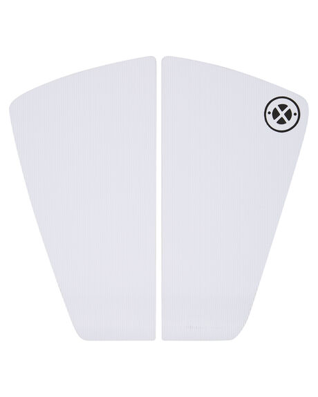 WHITE BOARDSPORTS SURF DREDED TAILPADS - DRPO-2PCWMITPWHI
