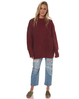 RED MARLE WOMENS CLOTHING SWELL KNITS + CARDIGANS - S8171148REDMA