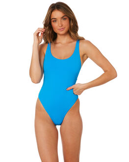 ELECTRIC BLUE WOMENS SWIMWEAR SEAFOLLY ONE PIECES - 10761-058ELCB