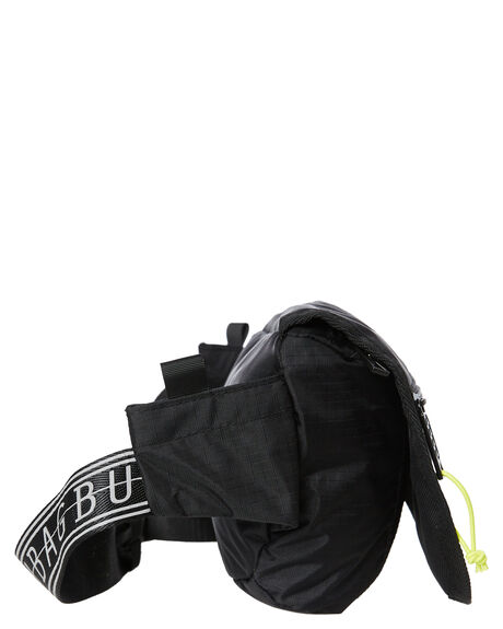 BLACK MENS ACCESSORIES THE BUMBAG CO BAGS + BACKPACKS - FB002BLK