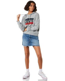 SMOKESTACK HTR WOMENS CLOTHING LEVI'S JUMPERS - 52367-0007SHTR