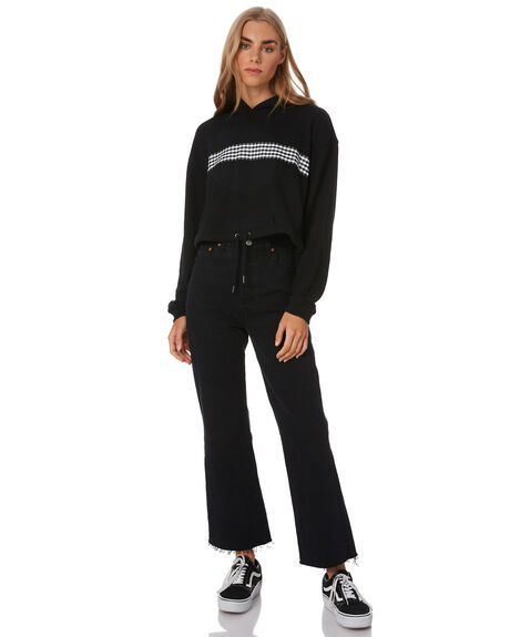 BLACK WOMENS CLOTHING VOLCOM JUMPERS - B4122001BLK