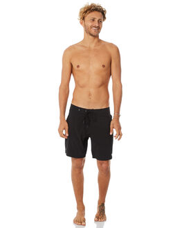 BLACK MENS CLOTHING AFENDS BOARDSHORTS - M182300BLK