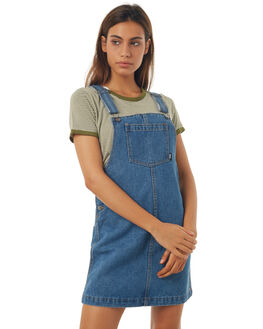 BLUE DENIM WOMENS CLOTHING ALL ABOUT EVE PLAYSUITS + OVERALLS - 6403075BLUE