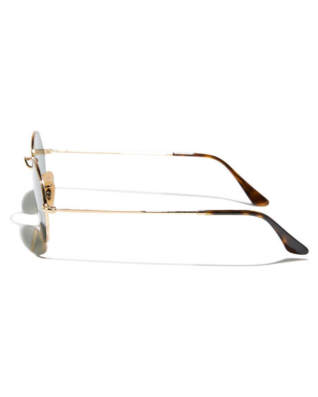 GOLD GREEN WOMENS ACCESSORIES RAY-BAN SUNGLASSES - 0RB3547NGLDGR