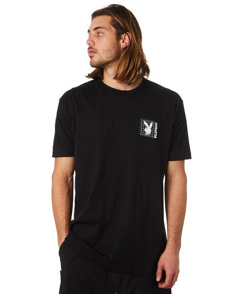 BLACK MENS CLOTHING GOOD WORTH TEES - TPG1821BLK