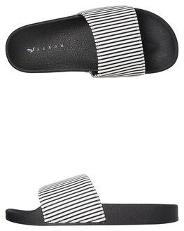 STRIPE WOMENS FOOTWEAR RUSTY SLIDES - FOL0194SRP