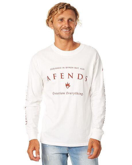 NATURAL MENS CLOTHING AFENDS TEES - 02-02-068NAT
