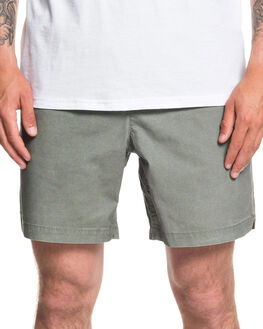 AGAVE GREEN MENS CLOTHING QUIKSILVER SHORTS - EQYWS03610-GZC0