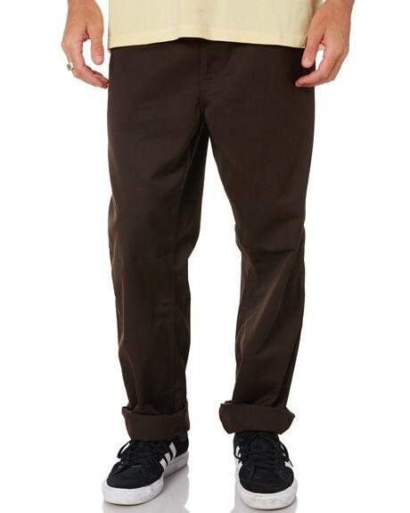 TOBACCO MENS CLOTHING CARHARTT PANTS - I020075-47TOB