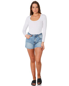 WHITE WOMENS CLOTHING BETTY BASICS TEES - BB210WHI