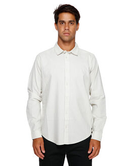 SILVER BLEACH MENS CLOTHING RVCA SHIRTS - RV-R391193-SVA