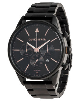 BLACK ROSE GOLD MENS ACCESSORIES QUIKSILVER WATCHES - EQYWA03025XKMK