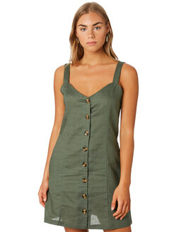 KHAKI WOMENS CLOTHING ELWOOD DRESSES - W93730350