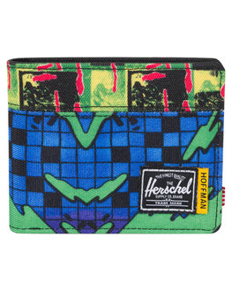 CHECK SURF MENS ACCESSORIES HERSCHEL SUPPLY CO WALLETS - 10363-01946-OSSURF
