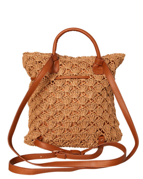 TAN WOMENS ACCESSORIES RUSTY BAGS + BACKPACKS - BPL0428TAN