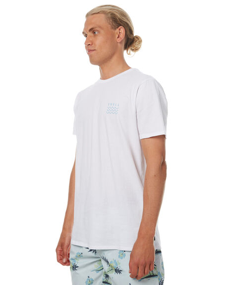 WHITE BLUE MENS CLOTHING SWELL TEES - S5164013WHTB