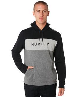 BLACK MENS CLOTHING HURLEY JUMPERS - CD4550010