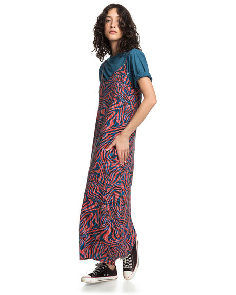 VIBRANT ORG WILDLIFE WOMENS CLOTHING QUIKSILVER DRESSES - EQWWD03005-NLH6