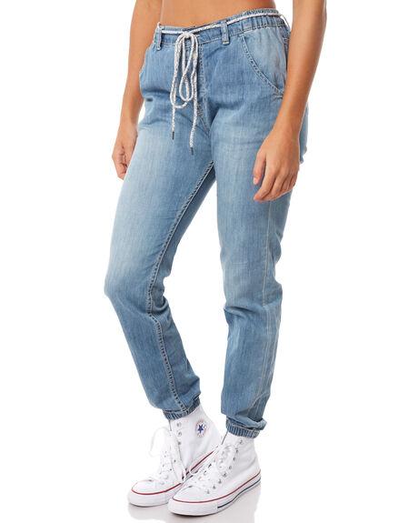 MEDIUM BLUE WOMENS CLOTHING ROXY PANTS - ERJDP03180BGY0