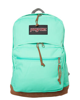 SEAFOAM GREEN MENS ACCESSORIES JANSPORT BAGS - JSTYP7SEA