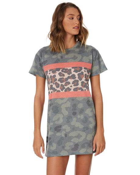 PRINT WOMENS CLOTHING ALL ABOUT EVE DRESSES - 6446244PNT