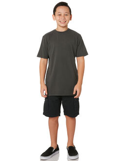 CHARCOAL KIDS BOYS SWELL TOPS - S3183004CHARC