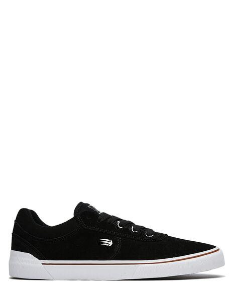 BLACK MENS FOOTWEAR ETNIES SNEAKERS - 4101000534001
