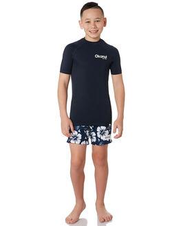 NAVY BOARDSPORTS SURF OKANUI BOYS - KSP19SR01NVY
